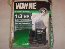Pedestal Or Submersible Sump Pump Wayne 1 3 Hp Cast Iron Pedestal Sump Pump Model Spv500 Ebay