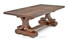 Tuscan Dining Room Tuscan Dining Table Old Word Thick Scroll Base