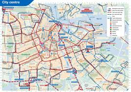 Nyc Subway Map App by Useful Travel Information Maps Of Amsterdam Amsterdam Transport