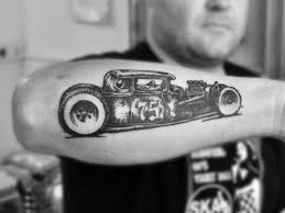 automotive tattoo sleeve best 25 rod tattoo ideas on pinterest von dutch