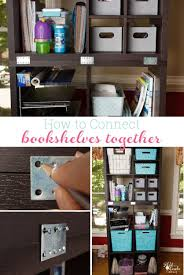 Kallax Filing Cabinet How To Connect Freestanding Bookshelves Or Storage Shelves Together