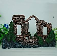 buy continental castle building aquarium rockery landscape pets