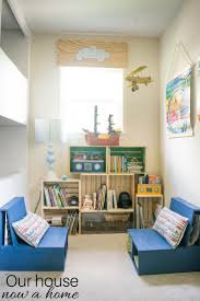 diy wooden crate bookshelf making the perfect kids reading nook boy bedroom decorating ideas easy to make diy kids bedroom reading nook low