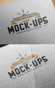 20 free logo mockup psd templates for designers