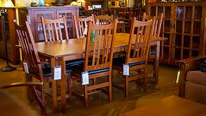 Solid Wood Dining Chairs Amish Built Furniture In Houston The Amish Craftsman