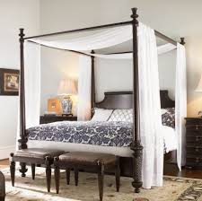 bedroom furniture low canopy bed armoire modern king size bed