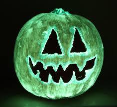 Glow In The Dark Halloween Fabric by Make A Glow In The Dark Pumpkin