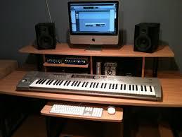 Simple Diy Desk by Homemade Studio Desk Elegant Diy Home Studio Monitor Stands With