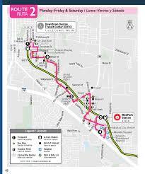 5 Train Map Route 2 Denton County Transportation Authority