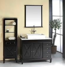 White Vanities Bathroom Vintage White Vanity Combo Sink On Brown Harwood Floor Also Wooden