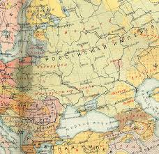 Map Of Central Europe East European Population And Languages Russian Map Of 1907