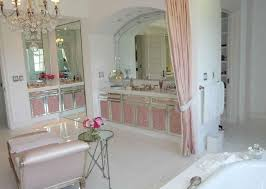 pink cabinets in master bath hooked on houses pink bathroom