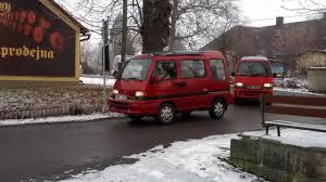 subaru minivan 2013 příjezd do svijan zimní sraz subaru libero 2013 youtube