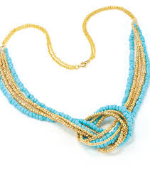 beads knots necklace images Seed bead love knot necklace joann jpg