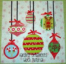 sewcraftyjess hanging ornaments block tutorial