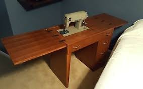 solid wood sewing machine cabinets vintage sewing machine cabinet table queen anne legs nice solid wood