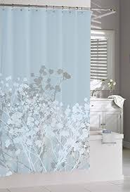 Kassatex Shower Curtain Kassatex Linens Willow Spa Blue Shower Curtain