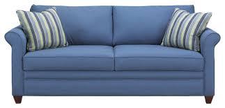 Blue Sleeper Sofa Denver Sleeper Sofa Transitional Sleeper Sofas By