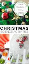 christmas science activities experiments kids