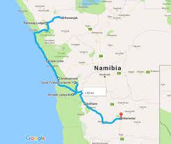 Kalahari Desert Map Stuartonnature