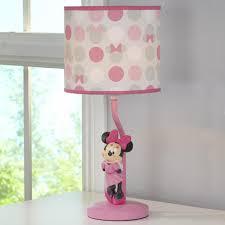 disney minnie mouse polkadots lamp and shade toys