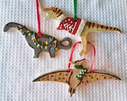dinosaur ornament etsy