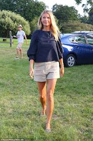Gwyneth Paltrow Gwyneth Paltrow Shows Off Her Legs Heading To Authors Event In The