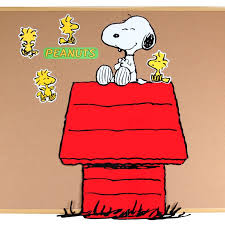 snoopy on his dog house snoopy and dog house