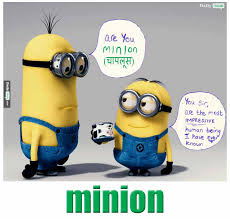 Meme Meaning And Pronunciation - minion meaning in hindi with picture dictionary