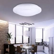 round 40w led ceiling light fixture l bedroom kitchen 2x18w 6500k led ceiling light flush mount fixture l surface