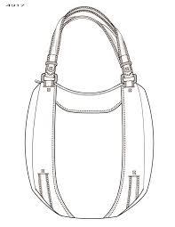 handbag illustration by kim honeycutt at coroflot com