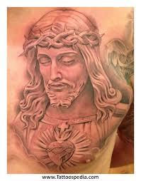 jesus chest tattoos for men 3