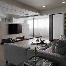 Korea Style Interior Design Modern Minimalist Japan South Korea Style Living Room Interior
