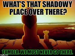 Lion King Shadowy Place Meme Generator - lion king meme imgflip