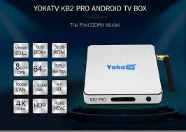 pro android yokatv kb2 pro wifi android box 3gb ddr4 32gb emmc us