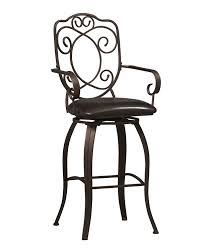 Furniture Row Bar Stools Amazon Com Linon Crested Back Bar Stool 30 Kitchen U0026 Dining
