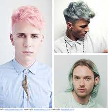 what hairstyles guys hate men with pastel hair love it or hate it colors pinterest