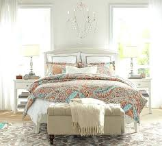 Pottery Barn Down Comforter Bedroom Dawn Print Duvet Cover Sham Pottery Barn Discontinued