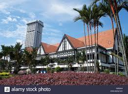 royal selangor club in kuala lumpur mock tudor architecture stock