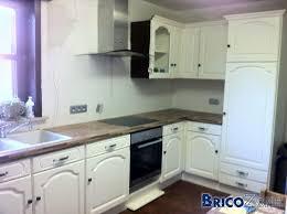 cuisine repeinte en blanc ophrey com cuisine chene repeinte en blanc prélèvement d