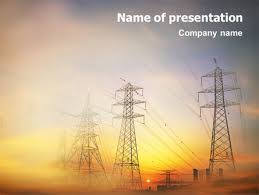 ppt templates for electrical engineering power line powerpoint template backgrounds 01638