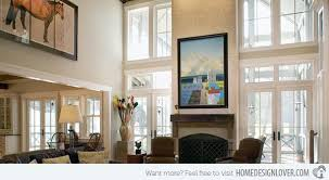 High Ceilings Living Room Ideas How To Decorate An Interior With High Ceilings Home Design Lover