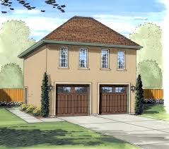 Two Story Workshop Gianna Stucco Apartment Garage Plan 125d 7501 House Plans And More