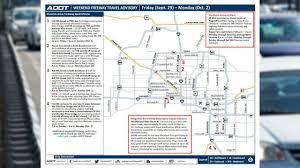 Phoenix Traffic Map by Phoenix Traffic Headlines 3tv Cbs 5