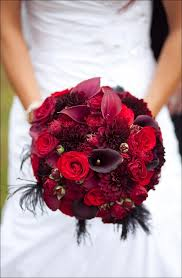 Different Shades Of Red Red Rose Wedding Bouquets 20 Ravishing Reds To Choose From