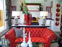 Red Living Room Design Ideas  Adorable Home - Red and blue living room decor