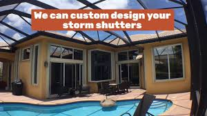 Storm Awnings How To Get The Best Hurricane Shutters In Jupiter Screen