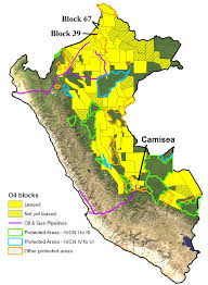 Amazon Maps Maps Of Oil Blocks And Biodiversity In The Western Amazon