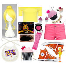 Chica Halloween Costume Fnaf 2 Toy Chica Polyvore