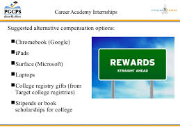 college registries pgcps career academy internships